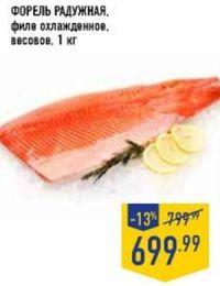 Скидки и акции в Ленте на красную рыбу